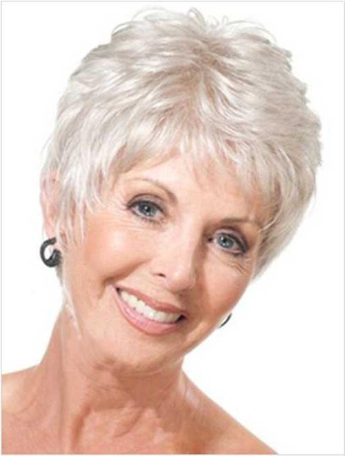 Best Short Haircuts For Women Over 50 | Short Hairstyles 2016 With Short Haircuts For Women Over  (View 14 of 15)