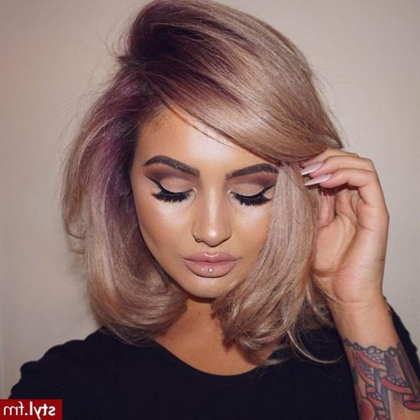 Blow Dry Short Curly Hair Straight – Hairs Picture Gallery With Regard To Blow Dry Short Curly Hair (View 10 of 15)