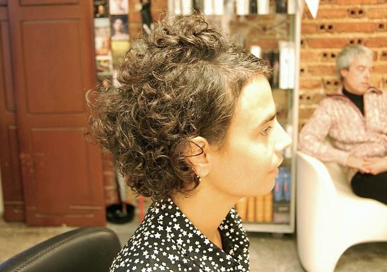 Curly Haircut With An Edgy Twist – Hairstyles Weekly Within Edgy Short Curly Haircuts (View 5 of 15)