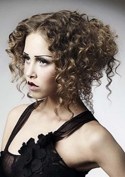Curly Hairstyles For Prom | Tumblr Regarding Short Curly Hairstyles Tumblr (View 9 of 15)
