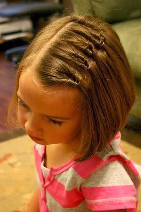 Cute Hairdos For Short Hair For Little Girls | Izzie's Hair For Cute Hairstyles For Girls With Short Hair (View 10 of 15)