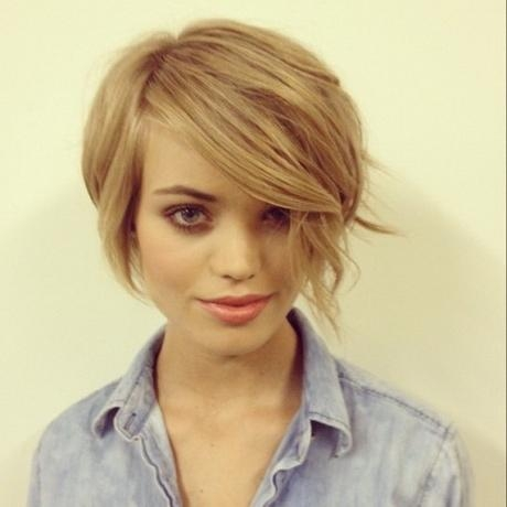 Cute Hairstyles For Short Thin Hair In Cute Hairstyles For Short Thin Hair (View 13 of 15)