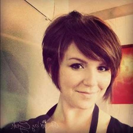 Cute Short Hair Ideas | Short Hairstyles 2016 – 2017 | Most Pertaining To Short Hairstyles For Brunette Women (View 11 of 15)