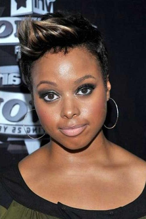 Cute Short Haircuts For Black Women With Round Faces ~ Hair Is Our With Short Hairstyles For Black Round Faces (View 7 of 15)