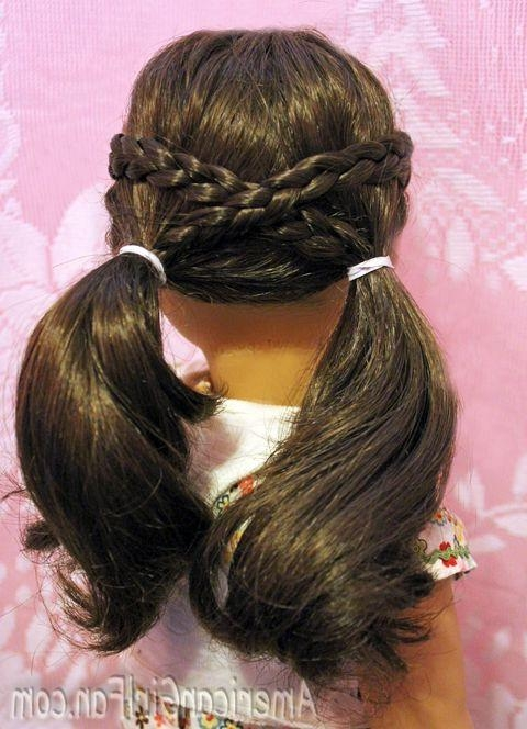 Doll Clothes Closet – How To Make A Closet For American Girl Dolls Pertaining To Cute American Girl Doll Hairstyles For Short Hair (Gallery 7 of 182)