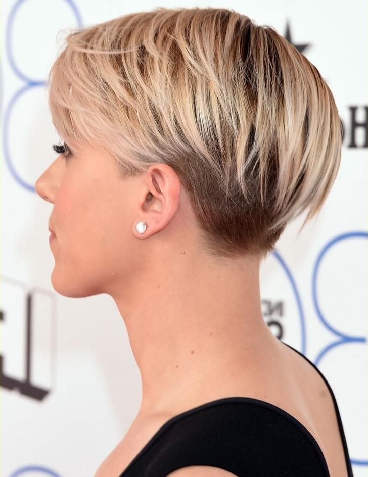 Gorgeous Scarlett Johansson Chic Short Haircuts 2015 | Styles Time With Chic Short Haircuts (Gallery 8 of 15)