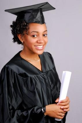Graduation Hairstyle For Short Curly Hair Throughout Graduation Cap Hairstyles For Short Hair (View 8 of 15)