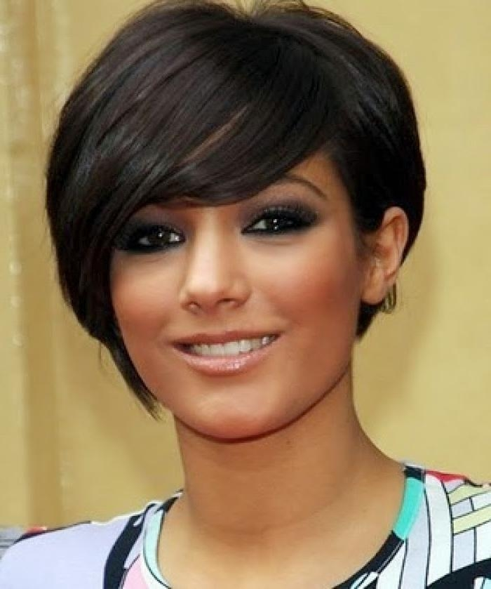 Photo Gallery Of Short Haircuts For Women With Oval Face Viewing 13
