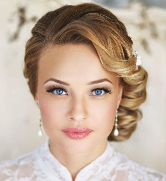 Hairstyles For Short Hair 2017 Intended For Wedding Hairstyles With Short Hair (View 6 of 15)