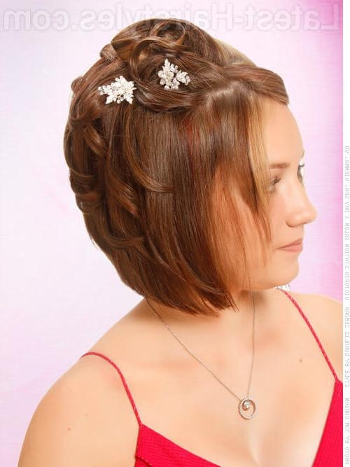 Hairstyles For Short Hair For Homecoming | Hair Style And Color Intended For Homecoming Short Hair Styles (View 15 of 15)