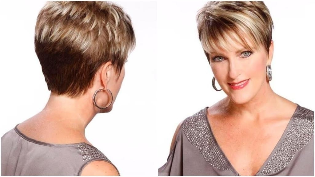 Hairstyles For The Over 50S Short Cute Hairstyles For Women Over Pertaining To Hairstyles For The Over 50S Short (View 10 of 15)