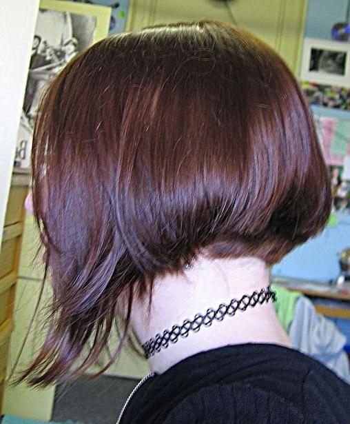 Hairxstatic: Short Back & Bobbed [Gallery 2 Of 6] In Short In Back Long In Front (View 9 of 15)