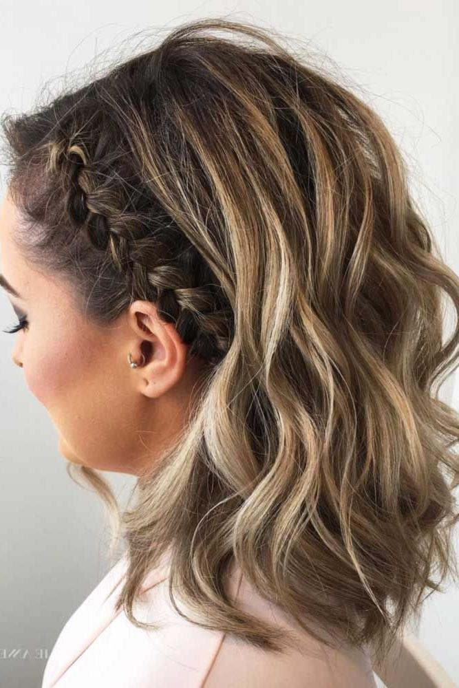 2019 Popular Cute Hairstyles For Short Hair For Homecoming