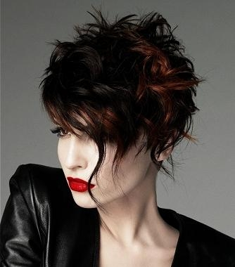 Hottest Edgy Hairstyles For 2016 | 2017 Haircuts, Hairstyles And Within Edgy Short Curly Haircuts (View 9 of 15)