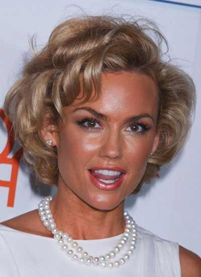 Its Kelly Carlson's Style With Regard To Blow Dry Short Curly Hair (Gallery 9 of 15)