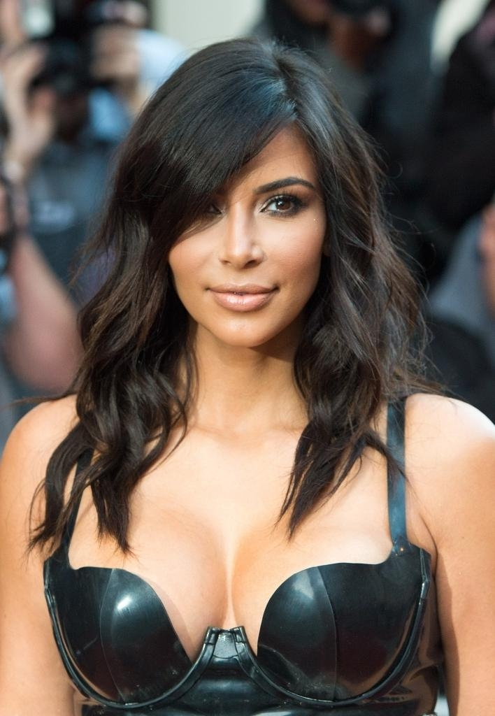 Kim Kardashian Short Haircut Kim K New Hair Best Hairstyle 2017 With Regard To Kim Kardashian Short Hairstyles (View 7 of 15)