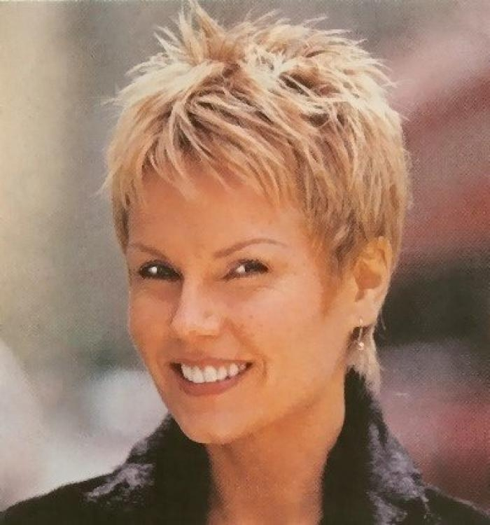 Latest Short Haircuts For Women Over 50 Regarding Best Short Haircuts For Over  (View 12 of 15)