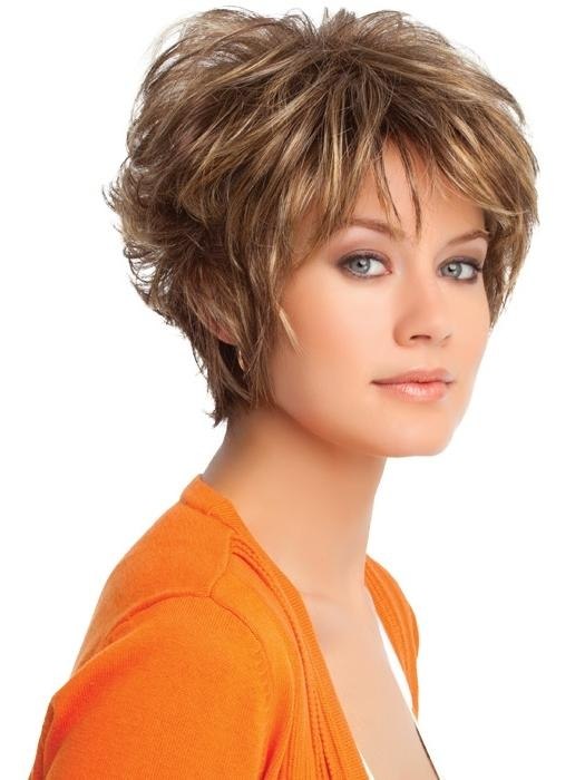 Layered Hairstyles For Thick Hair And Get Ideas How To Change Your Pertaining To Short Length Hairstyles For Thick Hair (View 15 of 15)