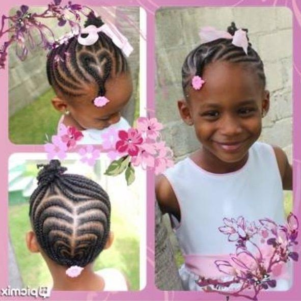 Little Black Girl Hairstyles 30 Stunning Kids Hairstyles Short Pertaining To Black Little Girl Short Hairstyles (View 14 of 14)