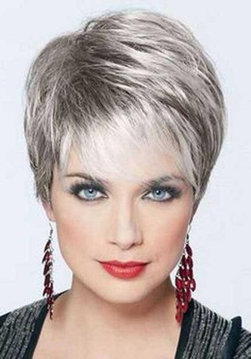 Pictures Of Short Haircuts For Over 50 | Short Hairstyles 2016 With Regard To Best Short Haircuts For Over  (View 13 of 15)