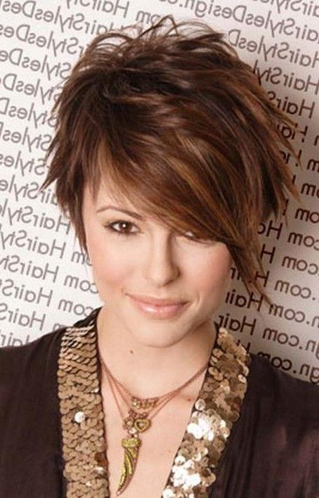 Featured Photo of Short Funky Hairstyles For Over