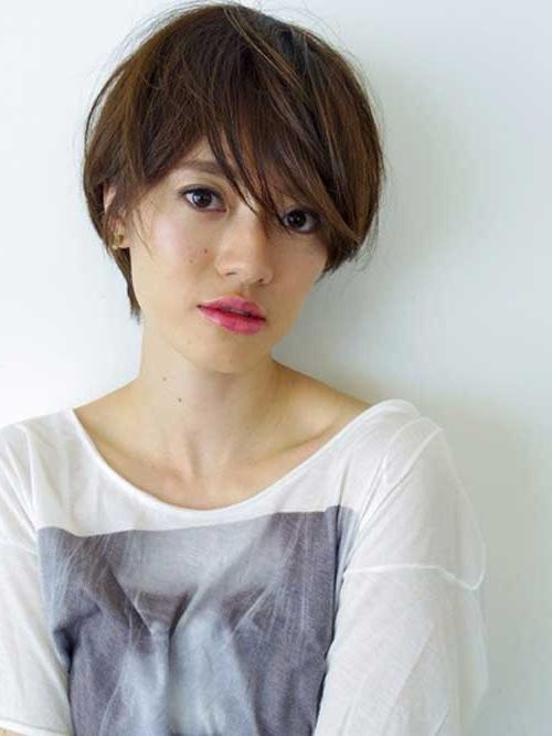 15 Inspirations of Short Hairstyle For Asian Girl
