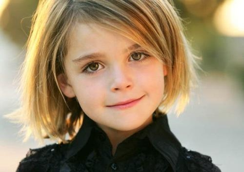 Really Short Hairstyles For Little Girls | Medium Hair Styles Regarding Young Girl Short Hairstyles (View 5 of 15)