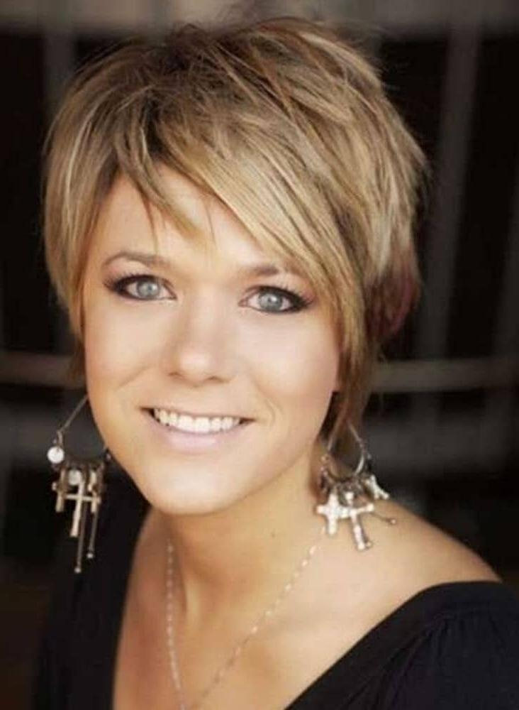 Short And Medium Hairstyles Women Over 40 Regarding Short Funky Hairstyles For Over  (View 9 of 15)