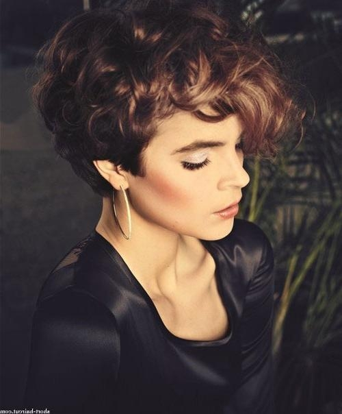 Short Blonde Curly Hair | Short Hairstyles 2016 – 2017 | Most Within Short Hairstyles For Ladies With Curly Hair (View 13 of 15)