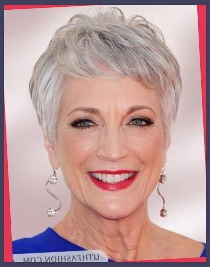 Short Choppy Hairstyles Over 50 | Trans Beauty With Short Hair For Over 50s (View 8 of 15)