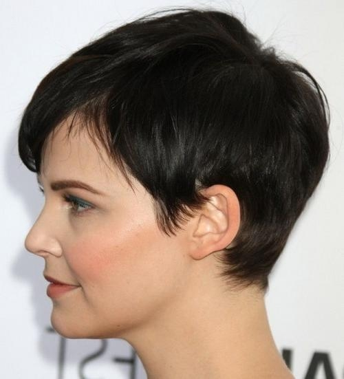2019 Latest Short Haircuts For Round Face Women