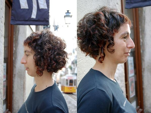 Short Hair Cuts For Naturally Curly Hair Intended For Edgy Short Curly Haircuts (View 10 of 15)