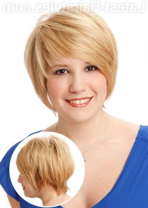 Featured Photo of Short Hairstyles For Chubby Cheeks