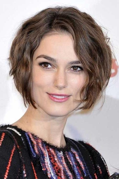 Photo Gallery of Short Hairstyles Thick Wavy Hair (Viewing 8 of 15 ...