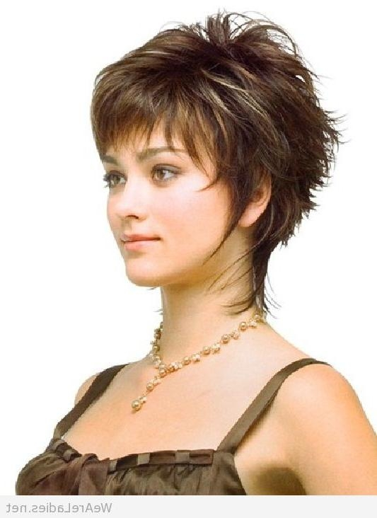 Short Hairstyle For Women Pertaining To Short Hairstyles For Fine Hair And Oval Face (View 7 of 15)
