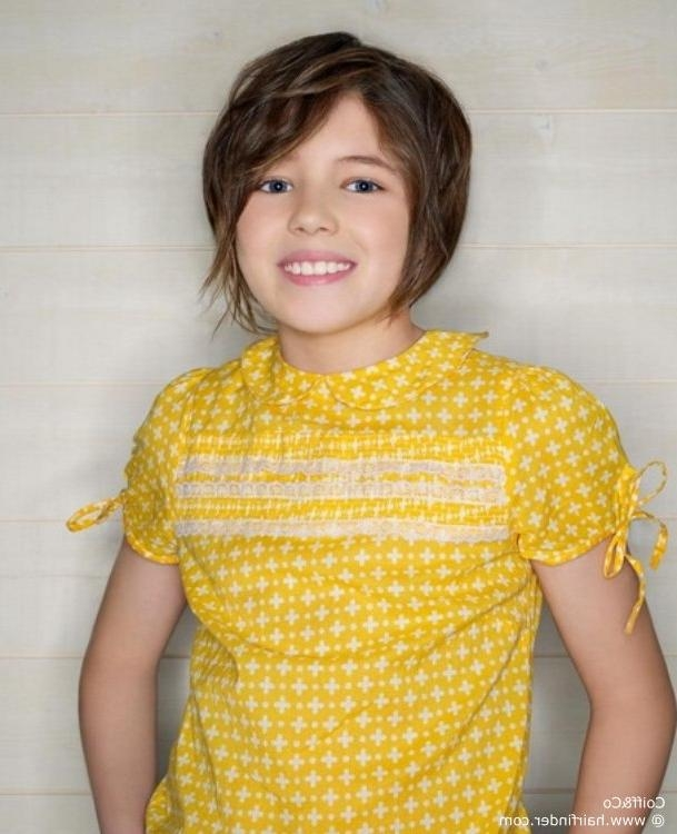 Short Hairstyle For Young Girls, Cut With Layers In Young Girl Short Hairstyles (View 12 of 15)