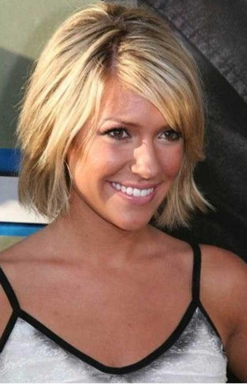 Short Hairstyles: Awesome Short Hairstyles For Thin Straight Hair Pertaining To Cute Short Hairstyles For Fine Hair (View 13 of 15)