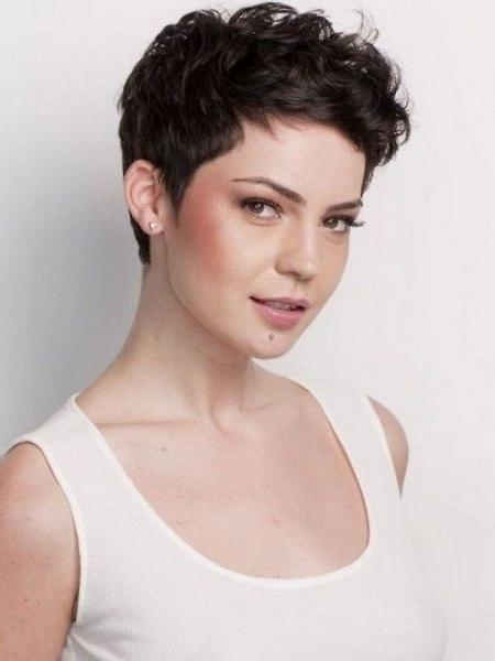 Short Hairstyles: Awesome Short Thick Wavy Hairstyles Simple Ideas Within Short Haircuts Thick Wavy Hair (View 13 of 15)