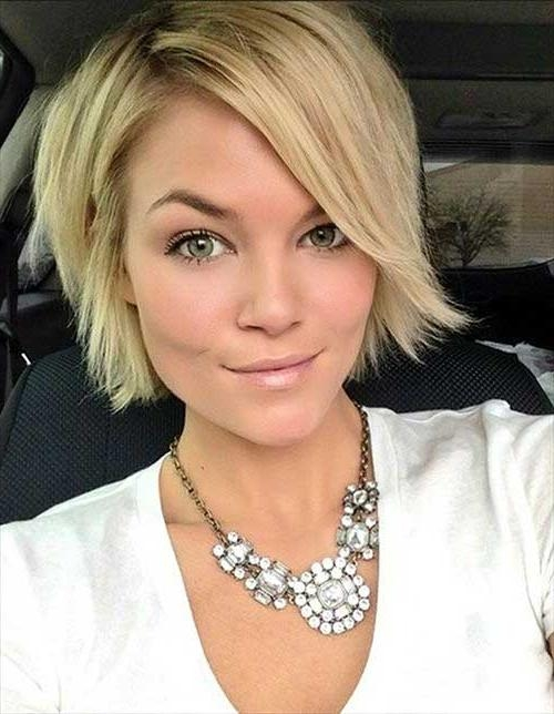 Short Hairstyles: Beautiful Short Hairstyles For Blondes Within Cute Short Hairstyles For Fine Hair (View 14 of 15)