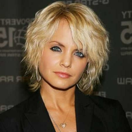 Short Hairstyles: Beautiful Short Hairstyles For Fine Wavy Hair For Short Wavy Hairstyles For Fine Hair (View 13 of 15)