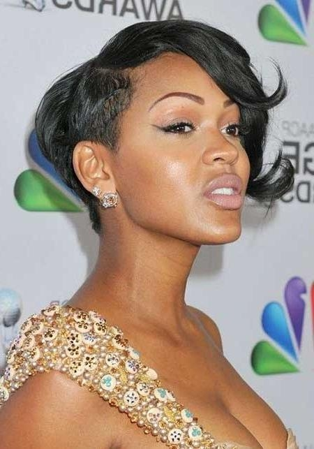 2018 Popular Cute Short Hairstyles For Black Teenage Girls