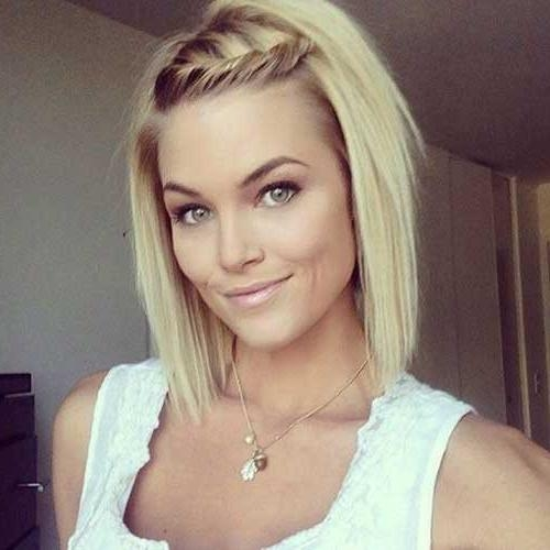 Short Hairstyles: Cute Easy Hairstyles For Short Hair Pinterest Within Cute Hair Styles With Short Hair (View 14 of 15)