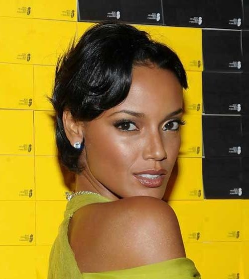 Pin Curls On Black Hair Short Hairstyles With Products And Tips To Maintain