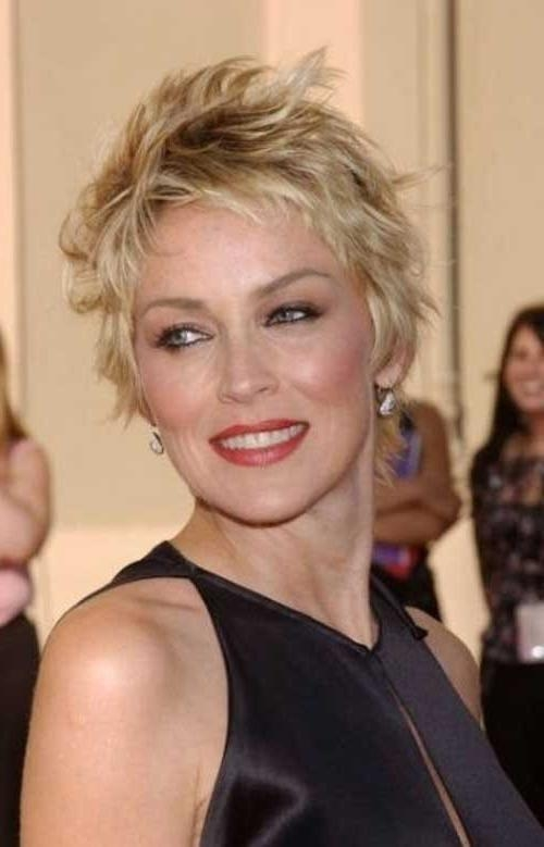 Short Hairstyles For Fine Hair Over 40download Full Hd Wallpaper For Short Hairstyles For Women With Fine Hair Over (View 5 of 15)