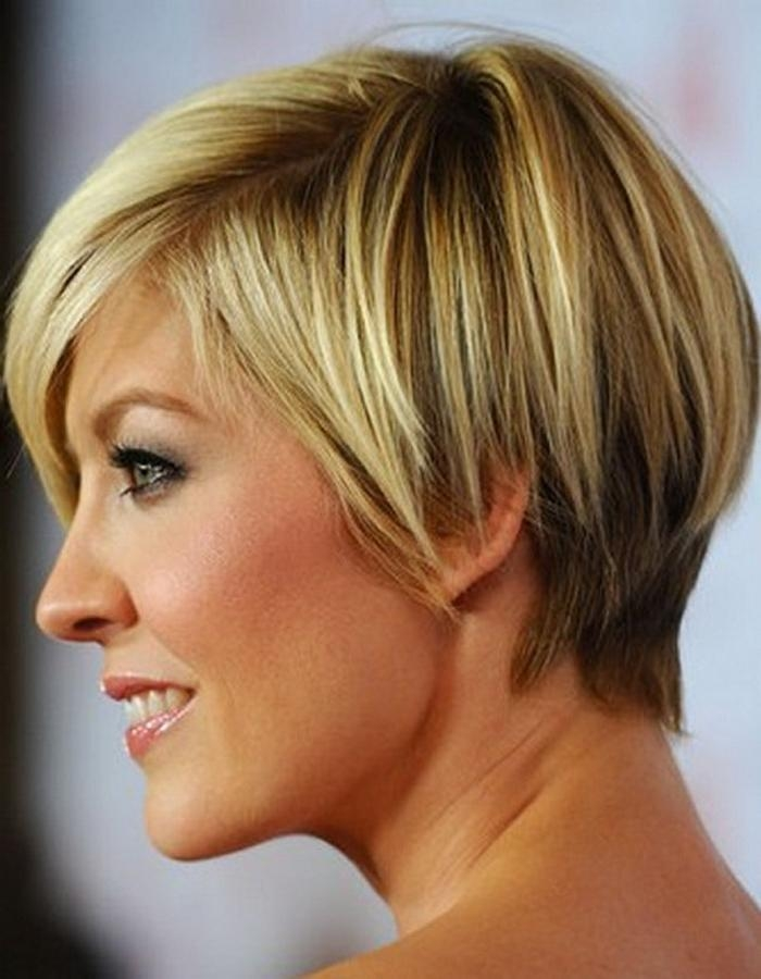 Short Hairstyles For Long Faces And Thin Hair – Hairstyles Within Short Hairstyles For Thick Hair  (View 13 of 15)