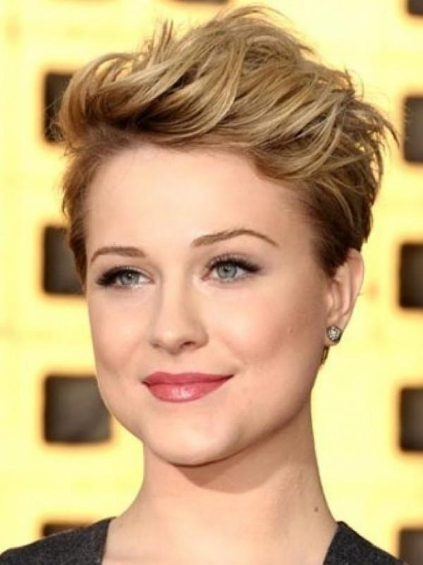 Short Hairstyles For Round Faces With Regard To Short Girl Haircuts For Round Faces (View 12 of 15)