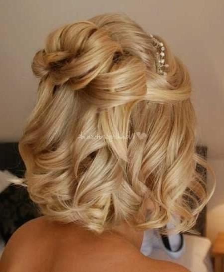 Short Hairstyles For Weddings 2014 | Short Hairstyles 2016 – 2017 With Cute Hairstyles For Short Hair For A Wedding (View 9 of 15)