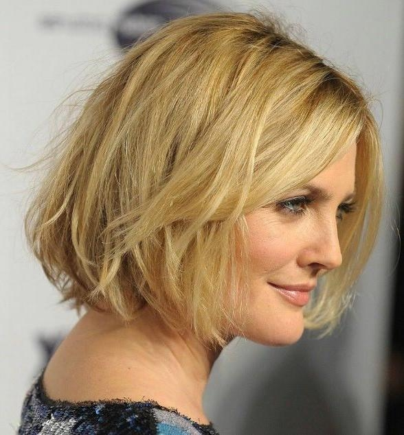 Short Hairstyles: Good Ideas Short Hairstyles For Fine Hair And For Short To Medium Hairstyles For Round Faces (View 12 of 15)