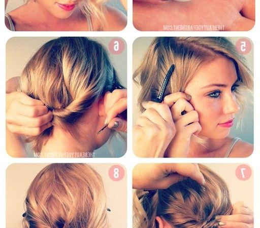 Short Hairstyles: How To Do Cute Hairstyles With Short Hair For With Cute Hairstyles For Really Short Hair (View 10 of 15)