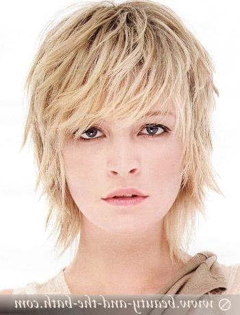 Short Hairstyles: Medium Short Hairstyles For Thin Hair 2016 Throughout Short Hairstyles For Women Over 40 With Thin Hair (View 14 of 15)
